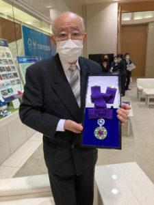 瀧澤利夫と勲章