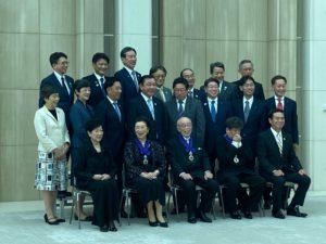 東京都名誉都民顕彰式集合写真
